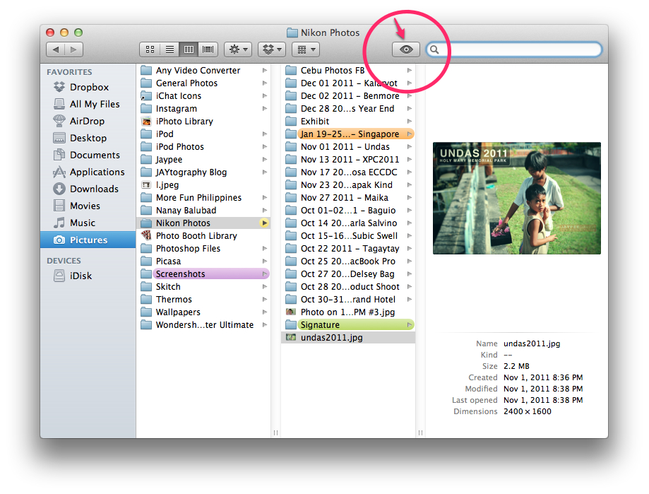 how to quickly show hidden files in mac
