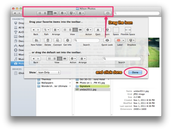 Quick Look Feature on Mac OS X