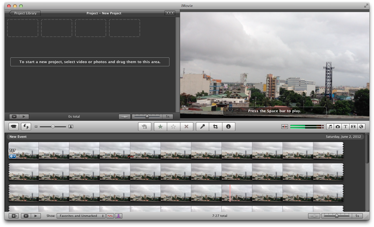 Create time lapse movie with iphone imovie pinoy appler create time lapse movie using imovie for mac ccuart Gallery