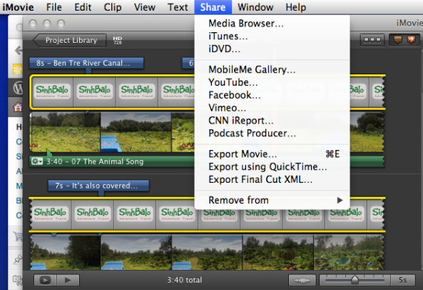 How to Create Music Video using iMovie and iPhone 4S 2